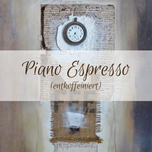 Piano entkoffeienierter Espresso Mischung 50% Arabica 50% Robusta
